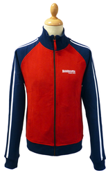 LAMBRETTA Twin Stripe Retro Indie Track Jacket (N)