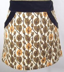 'Naomi' -Retro Sixties Mod EC STAR Mini Skirt (L)