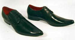 'Veer Leather' - Retro Mod Shoes by PAOLO VANDINI