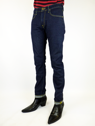 Luke LEE Jeans Retro Slim Tapered Denim Jeans DI