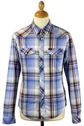 LEE JEANS Retro Mod Western Check L/S Shirt BF