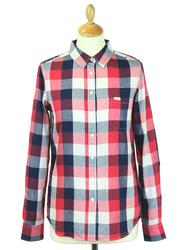 LEE JEANS Retro 70s One Pocket Block Check Shirt