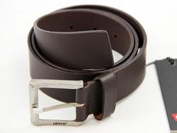 LEVI'S® Motor Retro Mod Brown Leather Belt 16213
