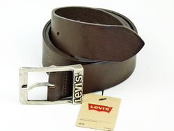 Grinder LEVI'S® Retro Indie Mod Leather Belt (Br)