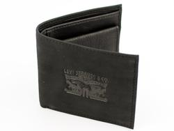 New in - Levi's® Retro Horse Logo Leather Gatefold Wallet