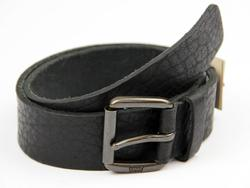Sid LEVI'S® Retro Full Grain Textured Leather Belt