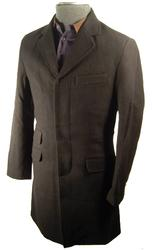 'Lord John' - Retro Mod Overcoat by MERC LONDON