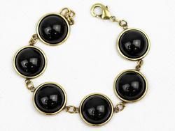 Glass Bubble LOVE BOUTIQUE 1960s Bracelet (B)