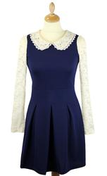 Mary LOVESTRUCK Retro 60s Mod Dress