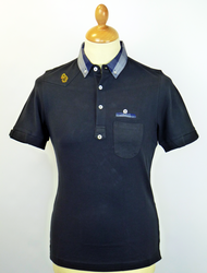 Vegas LUKE 1977 Retro Mod Shirting Collar Polo DN