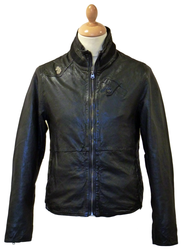 The Enemy LUKE 1977 'Clarke' Indie Leather Jacket
