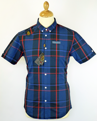 Jon Rev LUKE 1977 Retro Mod Multi Check Shirt (DN)