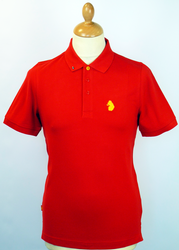 Kelvin LUKE 1977 Retro Indie Mod Slim Fit Polo SR