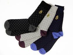 + Dipper LUKE 1977 3 Pack Pin Dot Socks
