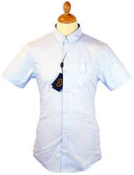 Red Lion LUKE 1977 Retro Micro Dash Oxford Shirt