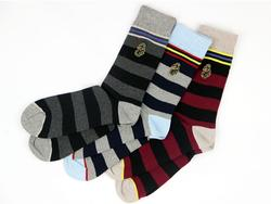 +Lad LUKE 1977 3 Pack Assorted Stripe Socks