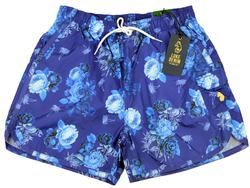 Pirates LUKE 1977 Retro 70s Floral Swim Shorts