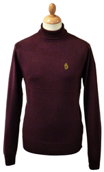 Minty LUKE 1977 Retro 60s Mod Roll Neck Jumper MS