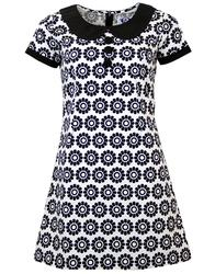 MADCAP ENGLAND DOLLIEROCKER 60s MOD DAISY DRESS