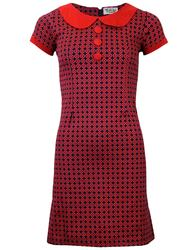MADCAP ENGLAND DOLLIEROCKER 60s MOD TARGET DRESS