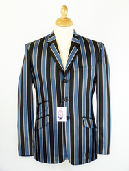 Backbeat Blues MADCAP ENGLAND Mod Boating Blazer