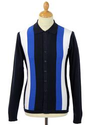 Best Madcap England Retro Mod Panel Polo Cardigan