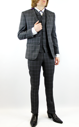 Tailored by Madcap England 60s Mod Check Suit