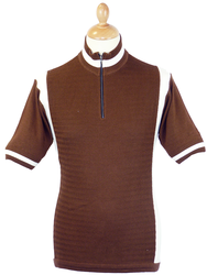 Roue MADCAP ENGLAND Mod Herringbone Cycling Top