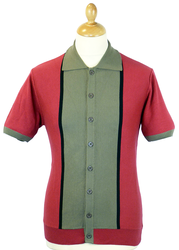 SS Marriott MADCAP ENGLAND Retro Mod Polo Top (M)
