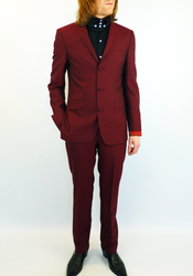 Tailored by Madcap England Mod 3 Button Tonic Suit