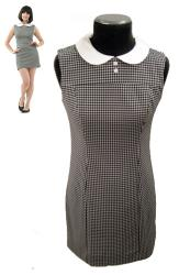 RETRO SIXTIES DRESS MOD VINTAGE DRESS