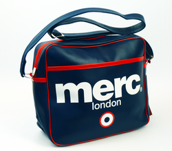 Airline MERC Retro Indie Mod Shoulder Flight Bag N