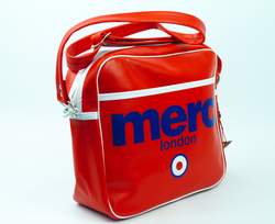 Airline MERC Retro Indie Mod Shoulder Flight Bag R