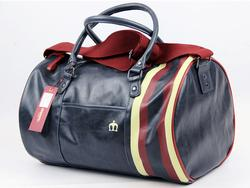 Gosport MERC Retro Indie Mod Stripe Barrel Bag (N)