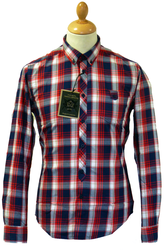 Pacific MERC W1 Retro Mod Button Down Check Shirt
