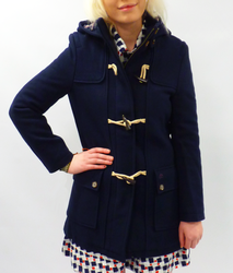 Betty MERC Retro Sixties Mod Melton Duffle Coat
