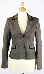 Moll MERC Retro 60s Donegal Tailored Mod Blazer