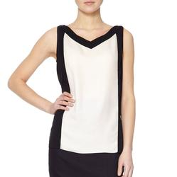 M Top FEVER Retro 60s Mod Women's Top (B/C)