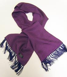 'TOOTAL SCARF - MULBERRY PIN DOT'