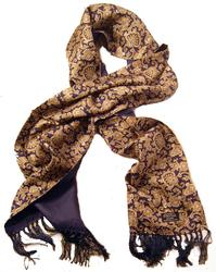 TOOTAL SCARF - Sixties Retro Floral Paisley (N)