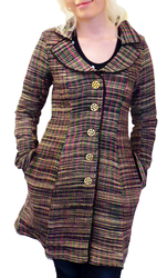 Hepburn NOMADS  Vintage 60s Handloom Tailored Coat