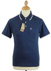 55 Polo ORIGINAL PENGUIN Retro Mod Tipped Polo DB