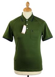 55 Polo ORIGINAL PENGUIN Retro Mod Tipped Polo RG