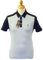 Fueled Emotions ORIGINAL PENGUIN Retro Mod Polo