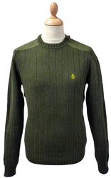 Leader of the Patch ORIGINAL PENGUIN Retro Jumper