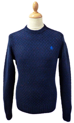 ORIGINAL PENGUIN Retro Mod Donegal Knit Jumper