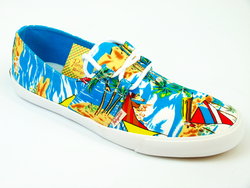 Gilly ORIGINAL PENGUIN Retro Hawaiian Plimsole