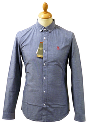 ORIGINAL PENGUIN Retro 60s Mod Oxford Shirt (DB)