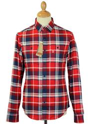ORIGINAL PENGUIN Retro Mod Herringbone Check Shirt