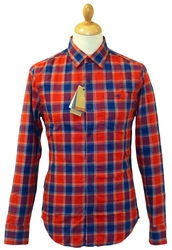 Roll Up ORIGINAL PENGUIN Retro Indie Check Shirt